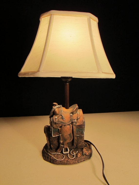 lampe de bureau western