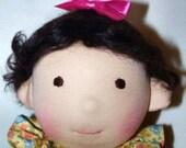 Abigail, 14 inch Waldorf inspired doll.