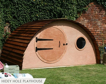 Hobbit Hidey Hole Playhouse Garden Den