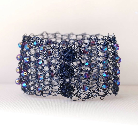 https://www.etsy.com/listing/184716844/fashion-wire-crochet-jewelry-woman-navy