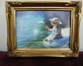 One Summer Day by Donald Zolan 1992 Framed Print
