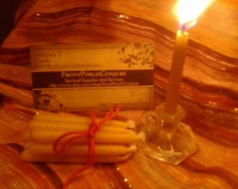 Meditation Candles, Mini Beeswax Candles, Metaphysical, Spiritual, Everything else