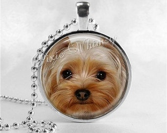 YORKSHIRE TERRIER Necklace, Yorkie, Yorkshire Terrier Dog, Dog Necklace, Dog Jewelry, Dog Charm, Dog Breed, Yorkie Necklace, Yorkie Jewelry