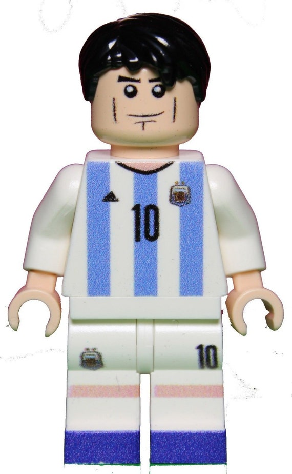 LIONEL MESSI Argentina World Cup Soccer Custom Printed Figure made ...