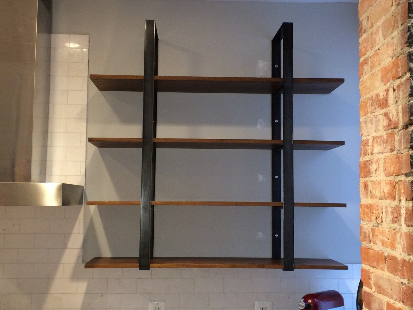 Ladder Style Wall Shelf Book Shelves hanging shelf