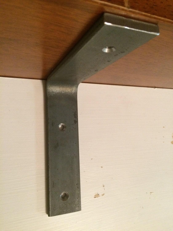4 X 4 Metal Book Shelf Brackets