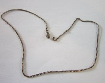"""16"""" Steel Chain Necklace"""