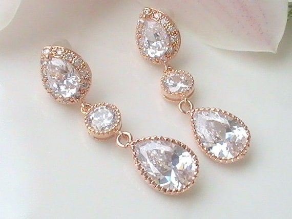 Wedding Gift Jewelry Ideas : Wedding Jewelry, Bridal Shower Gifts, Bridesmaid Gift Ideas, Bridal ...