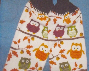 Crocheted Hang Towels- Owl Towels