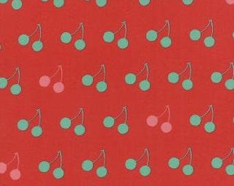 Avant Garden by Momo for Moda. Cheery Cherries in Cherry Red 16125 14