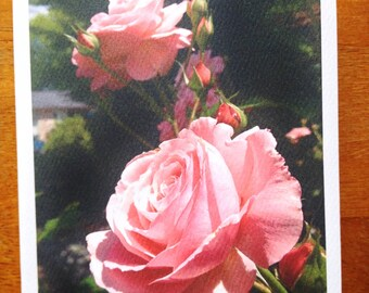Roses Note Card