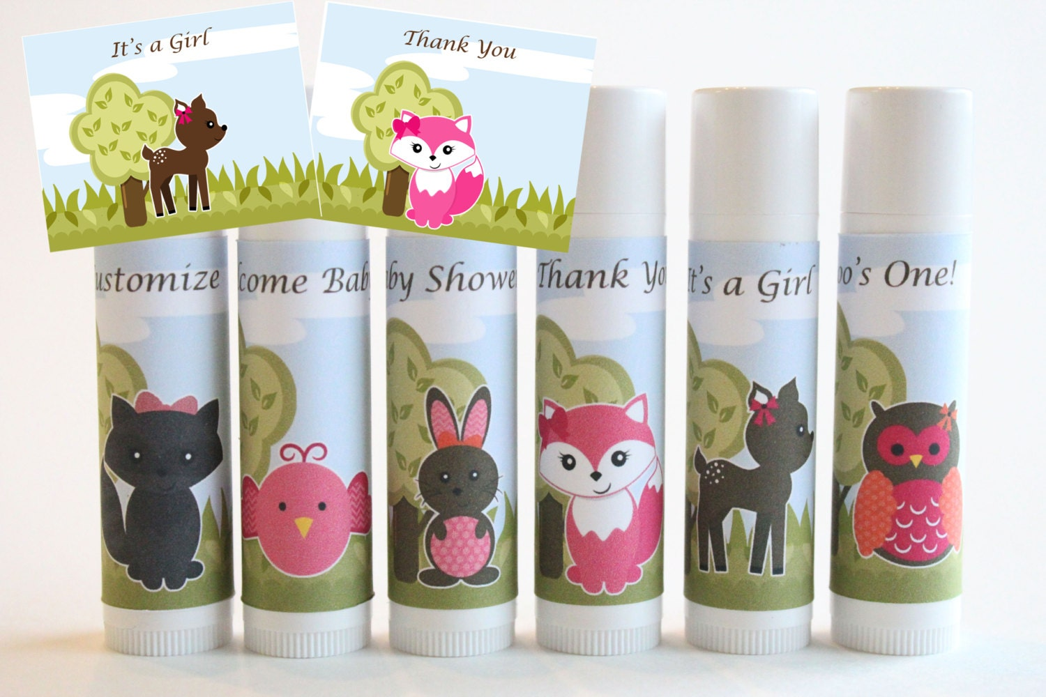 baby shower favors woodland creatures favors by nanaspartypalace