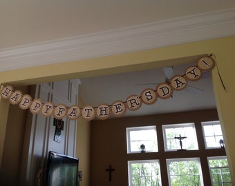Mother's or Father's Day banner