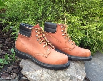 "Vintage Red Wing ""Rubbernecks""  Chukka Hunting Boots Work Boot Woman's Narrow 8AA"