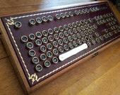 Buccaneer Steampunk Keyboard (brass keys)