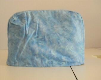 Toaster Cover - 2 slice - Blue brushstroke Print