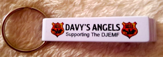 Bottle Opener - DAVY'S ANGELS logo