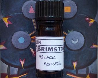 Black Agnes perfume oil - lavender, heather, beeswax, hay, gunpowder, clove, marjoram