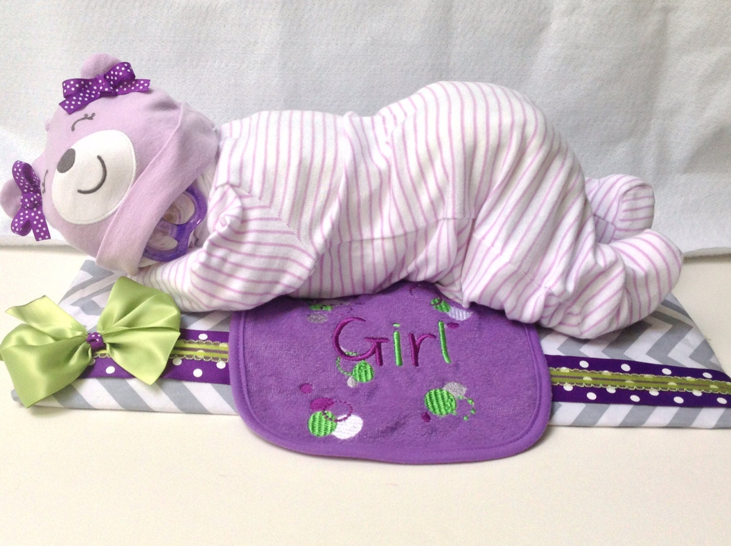Baby Girl Gift Ideas: Sleeping Diaper Babies Diaper Cakes Baby By