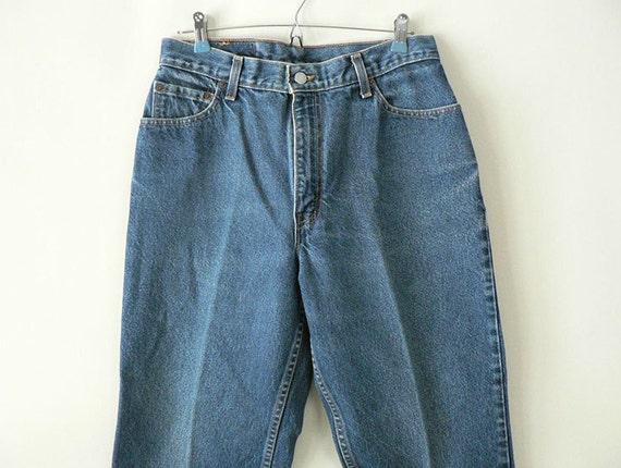 Womens vintage levi size 12 high waist jeans by longsince on etsy