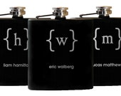 Best Man Gift, 1 Personalized Flask, Groomsman Gift, Best Man Flask, Groomsman Flask, Father of the Groom, Wedding Gifts for Men