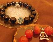Yoga Om Bracelet