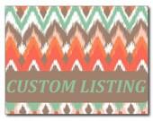 Custom Listing fir Sara M.