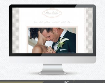 Prophoto Template -  Prophoto5 Website Template - Instant Download - Patricia Dhalia Prophoto5 Template