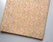 Yellow Japanese Flower Print