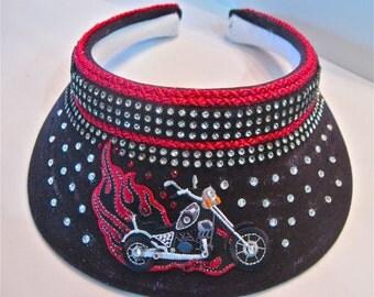 "Motorcycle Visor "" Easy Rider """