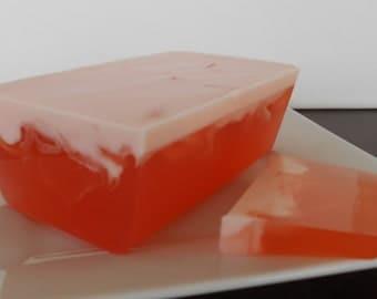 6 Soap Loaves - Glycerin Soap - 1 lb Loaf - Choose Your Scent - Uncut Soap Loaf