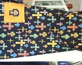 Crosses Full Apron - New With Tag