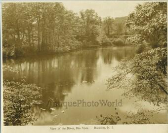 River view Rio Vista Boonton New Jersey antique photo