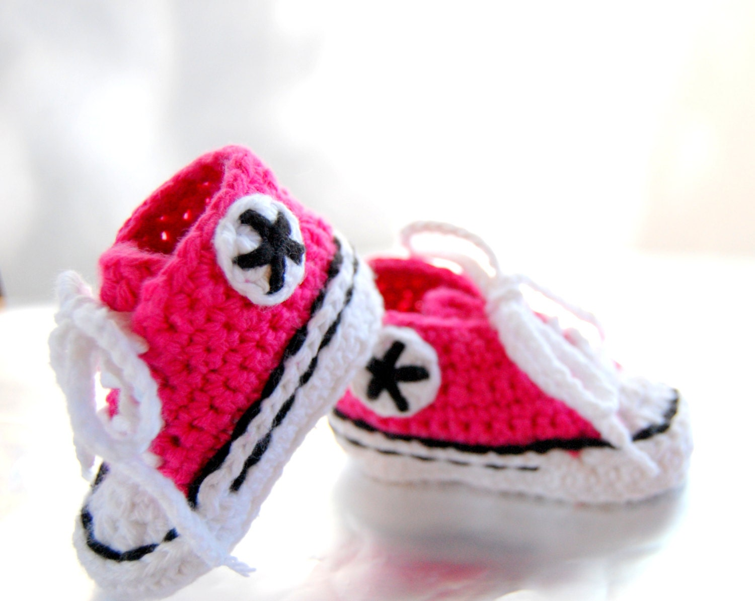Infant Crochet Converse Shoes Baby Shoes Baby Converse