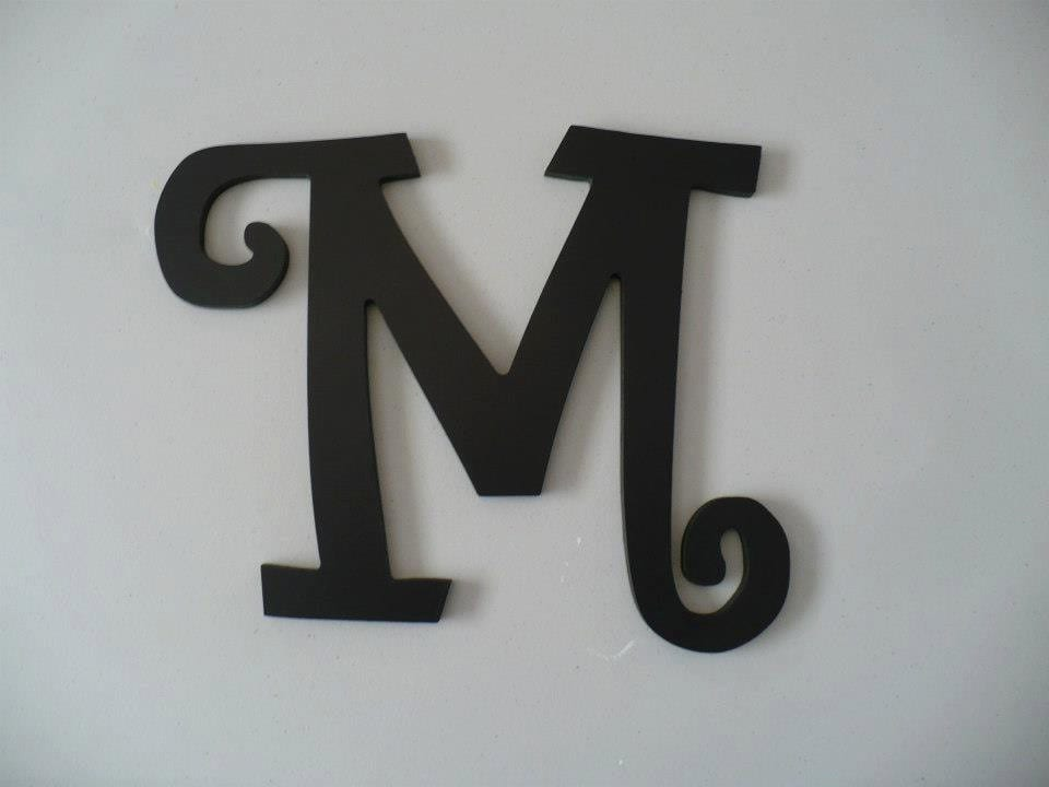 wooden wall letters wooden wall initials hanging wall letters
