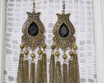 long earrings vintage