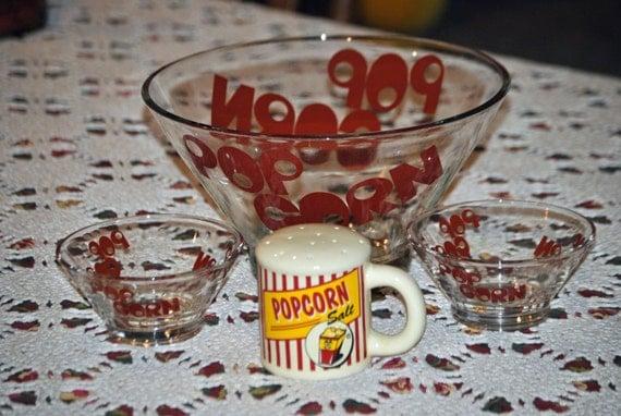 Vintage Popcorn Bowls 32