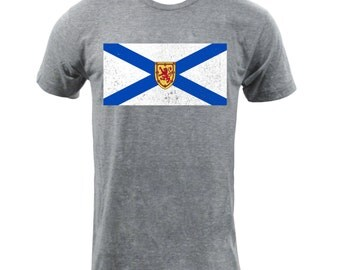 Nova Scotia Provincial Flag - Athletic Grey