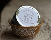 White Tea Solid Lotion Bar Stocking Stuffer Gift Under 10  Travel Tin - On the Go - Purse Size
