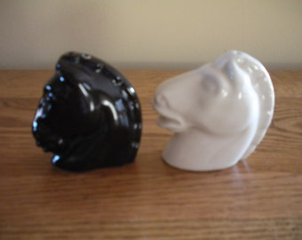 Black and White Horsehead Shakers