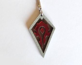 Warcraft Horde Keychain World of Warcraft WoW