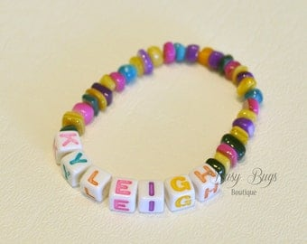Colorful Name Bracelet