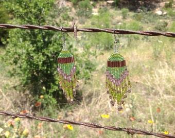 Springtime Beaded Earrings