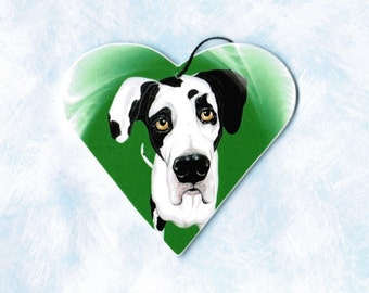 Harlequin Great Dane - Great Dane Ornament - Great Dane Magnet - Great Dane - Great Danes - Christmas Ornament - Tree Ornament - Dog Breeds