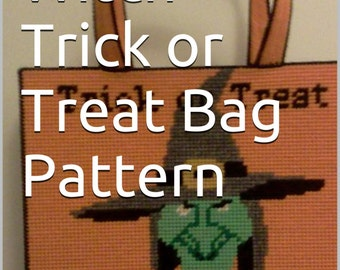 Halloween Trick or Treat Bag Pattern Only