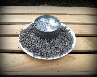 100 4oz Lavender Soy Candle Tins
