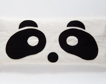 The Panda - Lavender and Flaxseed Eye Pillow
