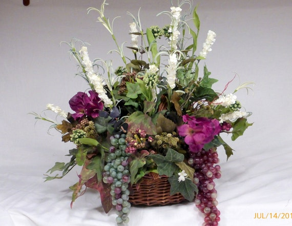 Ivy Centerpiece Floral Arrangements Decorative Dining
