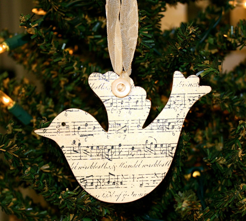 Sheet music christmas ornaments -  Christmas Ornament Sheet Music Ornament Zoom