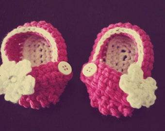 Baby Loafer Booties Sizes Newborn to 24 months